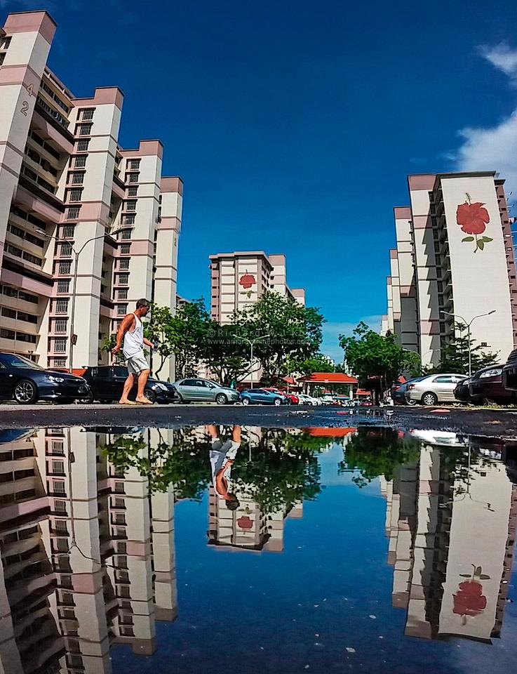 Time Warp in Bedok, Singapore