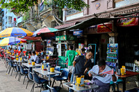 Yangon outdoor coffee shops